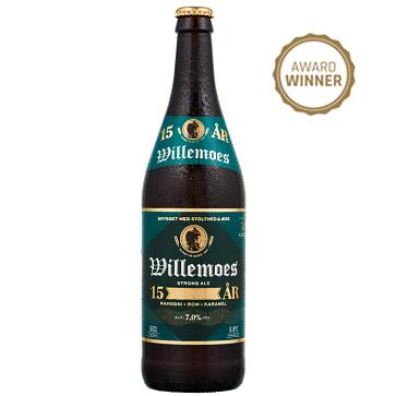 jubilæumsbryg 15 Ars - English Strong Ale 66 cl  7,00% (Willemoes)