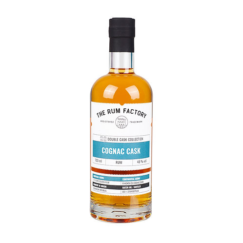The Rum Factory Double Cask Cognac 45% (Panama))