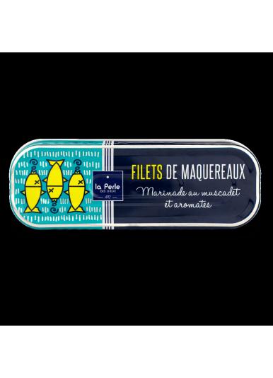 Filets de maquereaux marinade au muscadet et aromates 176 g