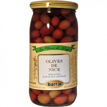 Olives Noires au naturel Provence 320 gr (Nice)