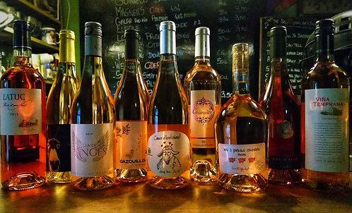 Coffret 6 bouteilles vin rosé (sec)