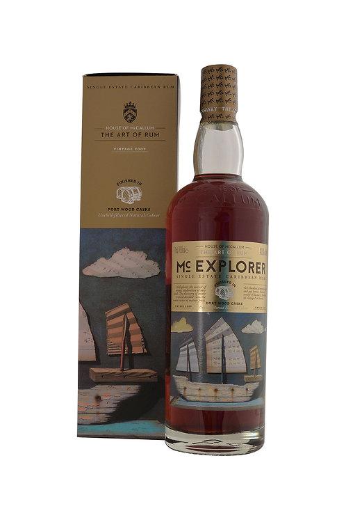 Mc Explorer Single Estate Carribean Rum sherry Cask 43.5% (Caraïbe)