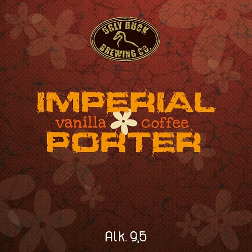 Vanillia coffee Porter 33 cl 9,50% (UGLY DUCK)
