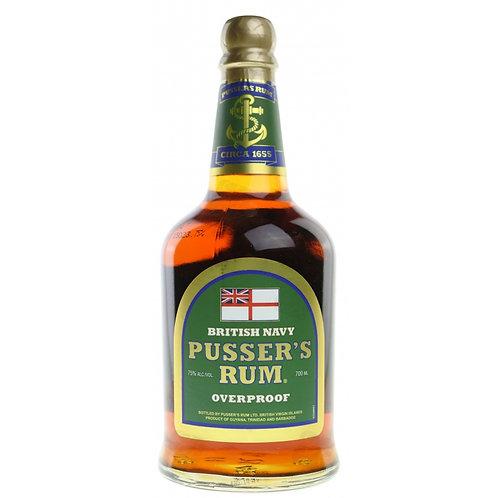 Pusser's Rum Gunpowder Proof 75% (Iles vierges britanniques)
