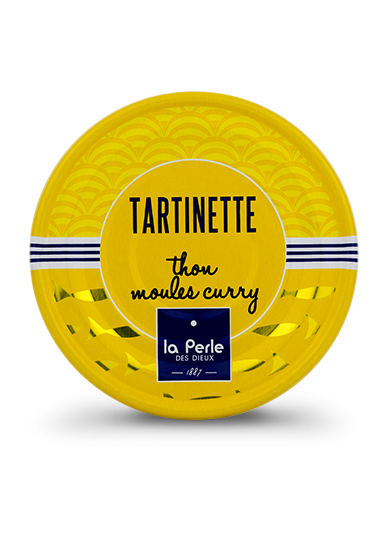 Tartinettes de thon et moules au curry 80g