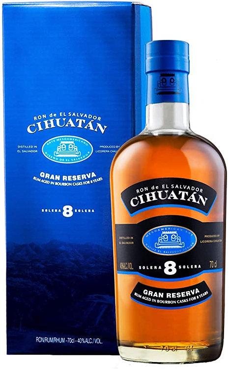 Cihuatan 8 Y - Rum El Salvador 40% (Salvador)