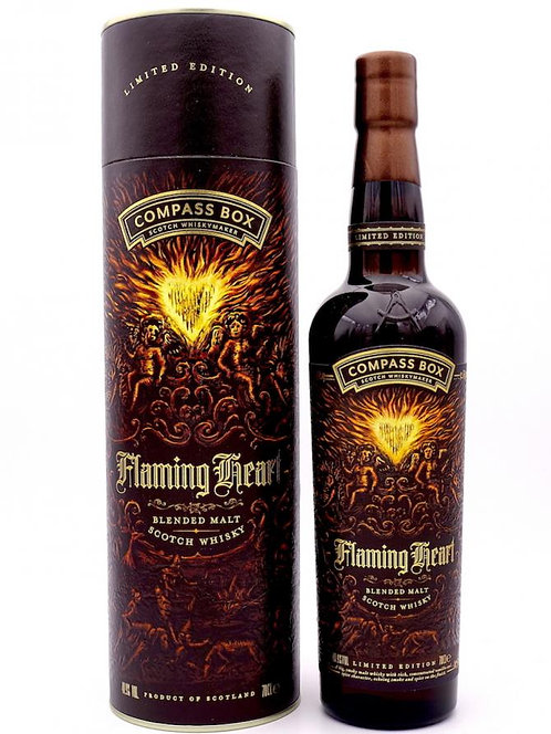 Compass Box Flamming Heart 6ème Edition 48.9%  (Ecosse)