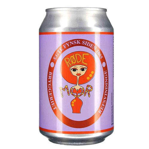 Rode MorAle33cl4,60% (Refsvindinge Brewery)