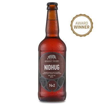 NIDHUG - Rye Amber Ale 50 cl5,20% (Bryggeriet Frejdahl)