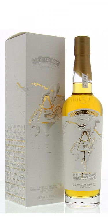 Compass Box Stranger and Stranger Limited Edition 46%  (Ecosse)