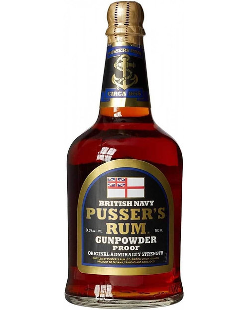 Pusser's Rum Gunpowder Proof 54.5% (Caraïbe)
