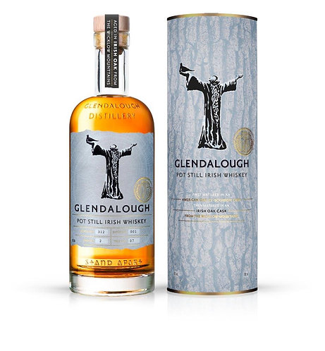 Glendalough Pot Still Irish Oak Irish Whiskey 43% (Irlande)