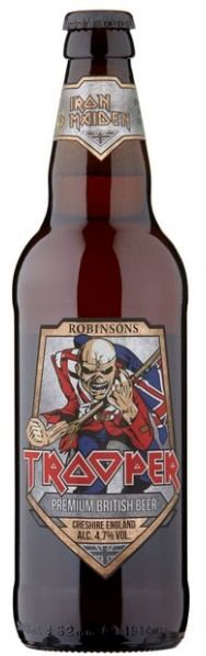 Iron Maiden Trooper beer 50 cl 4,70% (Robinson's Brewery)