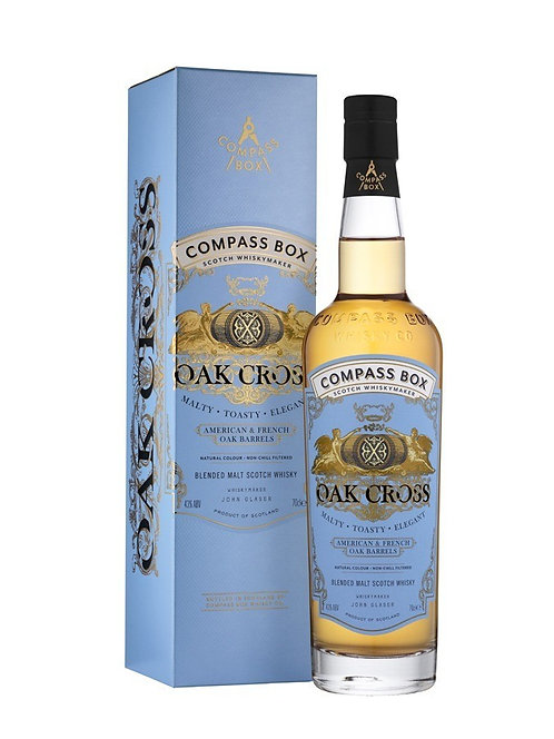 Compass Box OAK CROSS 43° (Ecosse)