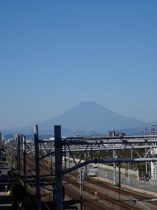 辻堂駅西口からの絶景。
