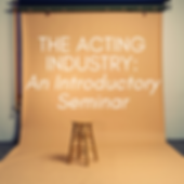 THE ACTING INDUSTRY_ An Introductory Sem