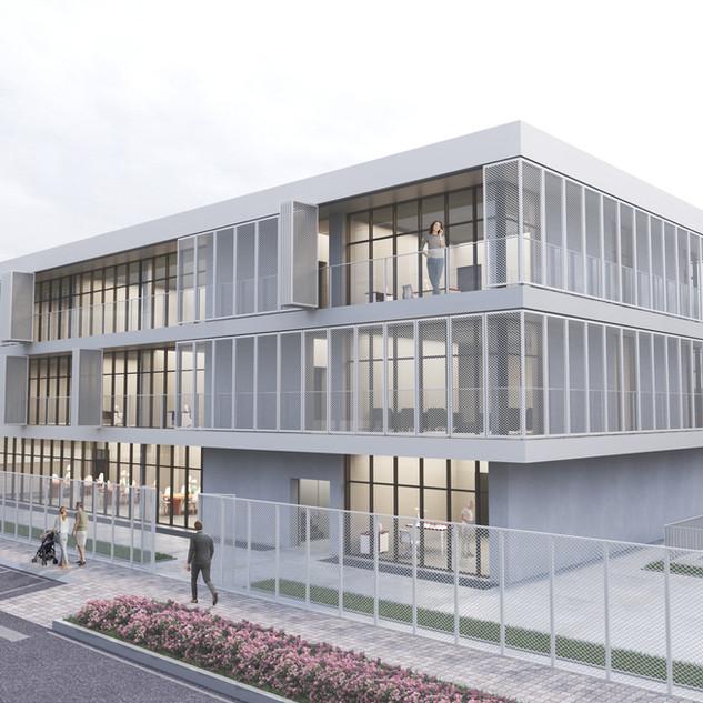 Verwaltungsgebäude Chiasso