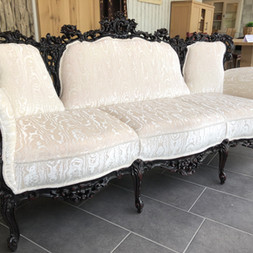 Chippendale-Sofa
