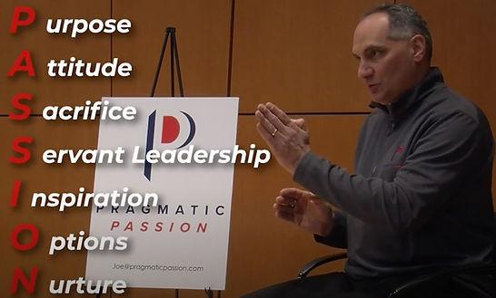 Joe Battista talking to audience