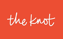 """Red """"The Knot box"""" with link to Aaron Woods' The Knot profile"""