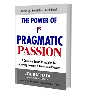The Power of Pragmatic Passion hard copy book