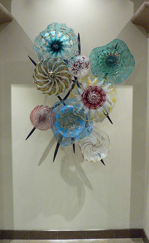 Glass Wall Sculpture