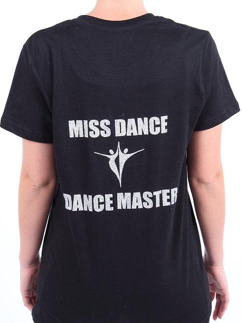Miss Dance Dance Master Logo Mens T-shirt