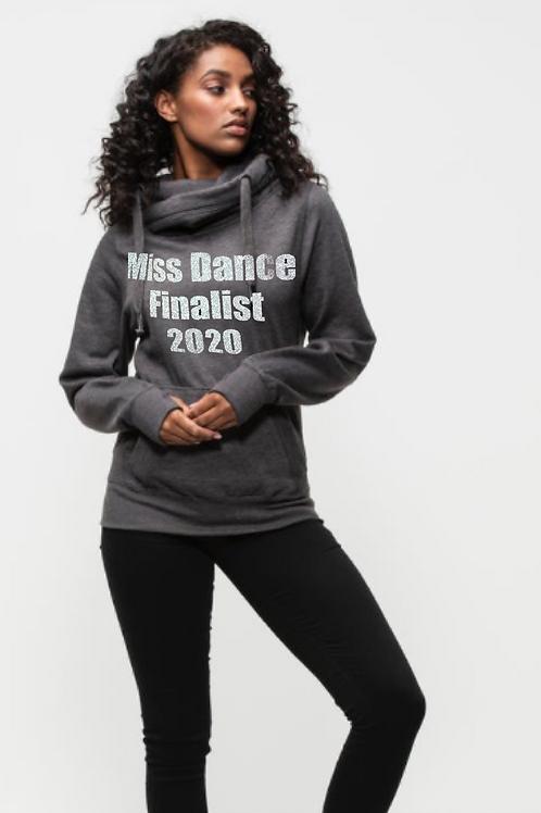 Miss Dance Dance Master Finalist Unisex Cross Neck Hoodie