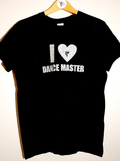 I Heart Dance Master Unisex T Shirt