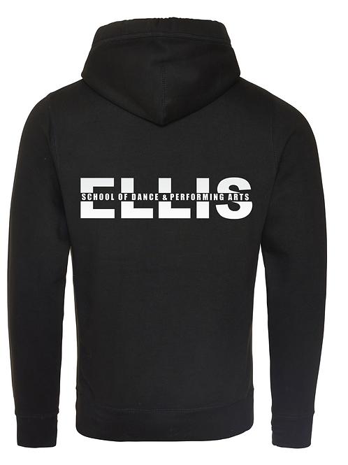 ELLIS Dance Cross Neck Hoodie