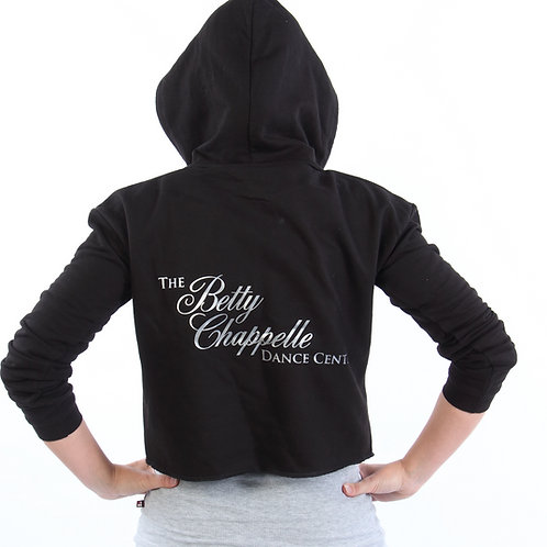 Betty Chappelle Dance Teen / Ladies Cropped Hoodie