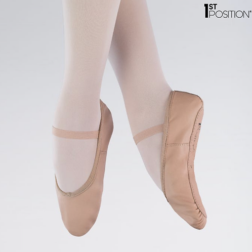 Childs Pink Ballet Shoes