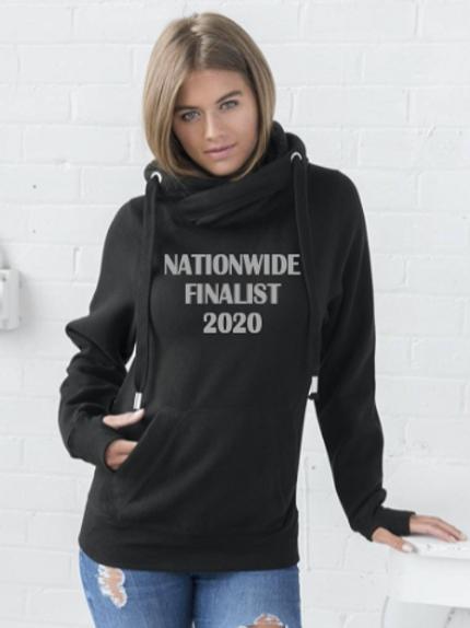 Nationwide Finalist 2020 Cross Neck Hoodie