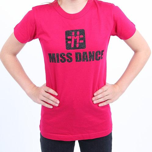#Miss Dance Ladies T-Shirt