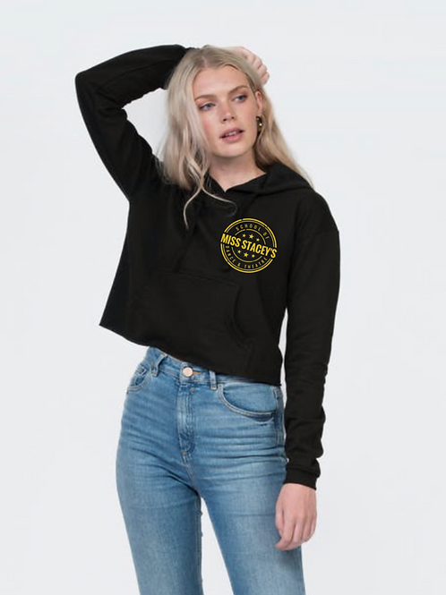 Miss Stacey's Adult Cropped Hoodie