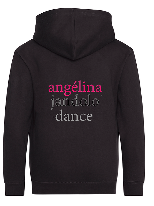 Angélina Jandolo Dance Kids Zip Up Hoodie