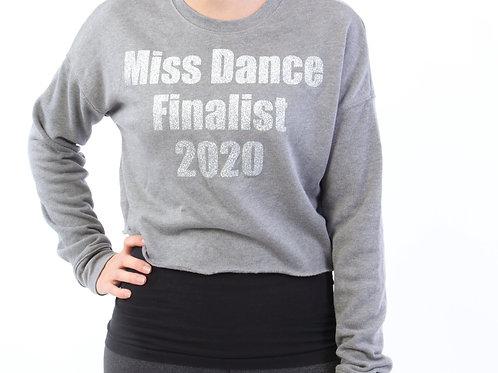 Miss Dance Finalist Cropped Sweatshirt