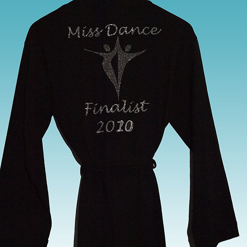 Miss Dance Finalist Black Robe