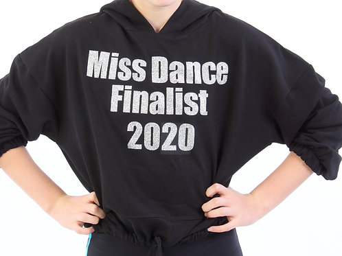 Miss Dance Finalist Cropped Hoodie
