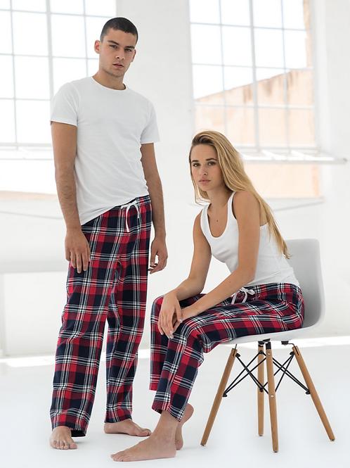 Adults Tartan Longe Pants