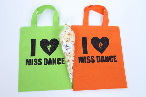 I Heart Miss Dance Mini Tote Bag