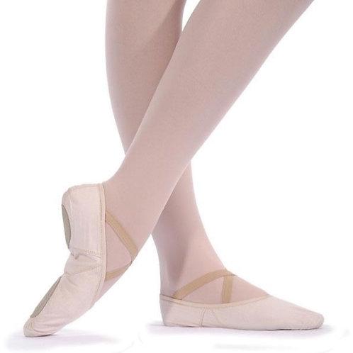 Canvas Split Sole Ballet Shoe