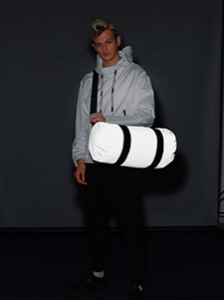 Betty Chapelle Dance Reflective Barrel Bag