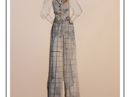 1940s Waistcoat and Fishtail Trousers - Part 1