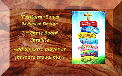 kickstarter exclusive design bonus plaqu