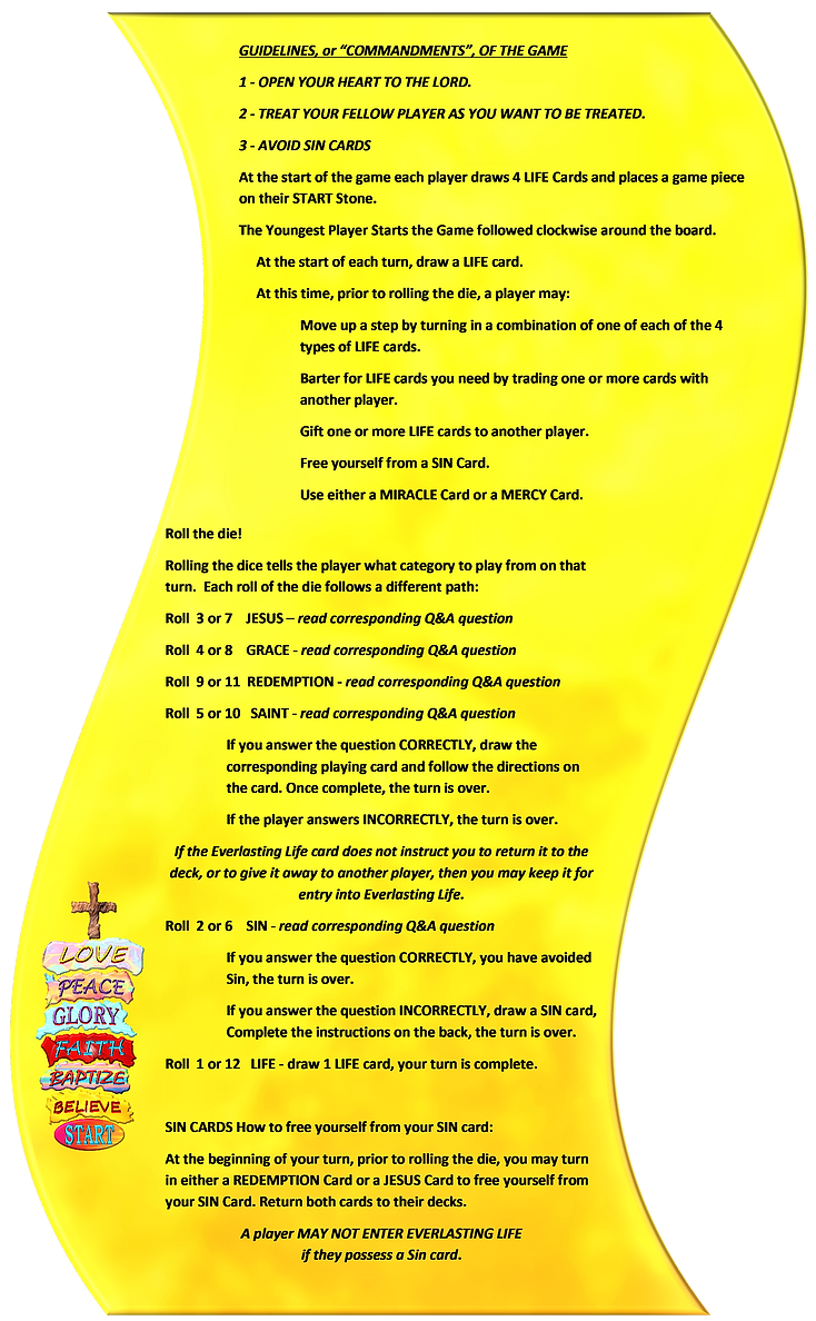 Rules of the game 2 of 3 banner picure (