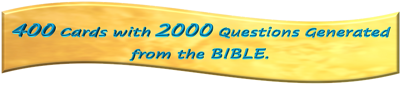 Kickstarter 400 cards with 2000 answers