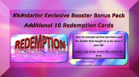 Kickstarter bonus 10 redemption cards (3