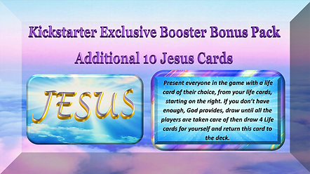 Kickstarter bonus 10 Jesus cards #2 pict