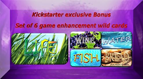 Kickstarter wild life card exclusive bon